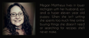 About author - Megan Matthews
